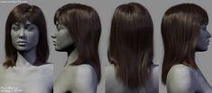 ArtStation - Hairstyles, Dani Garcia