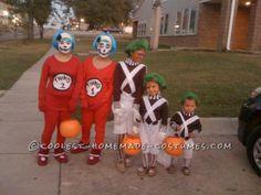 easy oompa loompa group halloween costumes - Oompa Loompa Halloween