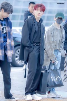 Jeonghan, Wonwoo, Woozi, Hoshi Seventeen, Seventeen Debut, Kpop Fashion, Asian Fashion, Airport Fashion, Star In Japanese