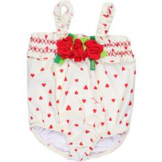 Juicy Couture Kids - Layette Embroidered Swimsuit (Infant)  So darn cute!