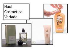 Haul cosmética Variada, parte 1