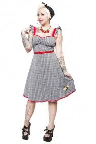 Bee Mine Gingham Dress