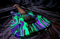 Ibanez swirl paint job