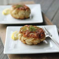 """Baltimore-Style Crab Cakes   """"If you don't overmix, and don't pack your mounds too tightly, you will experience pure, unadulterated crab cake heaven,"""" says Andrew Zimmern."""