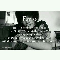 """this is why i don't really mind getting called """"emo"""" anymore (used to hate it but i'm ok with it now)<< I take emo as a compliment. Haha you tryna insult me by calling me emo? Haha no no you're right I know I'm emo af thx Abbey Dawn, Kawaii Clothes, He's Mine, Emo People, Emo Quotes, Emo Sayings, Mine Quotes, Crush Quotes, Cute Emo Boys"""