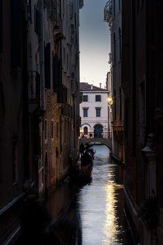 Gondola in the evening