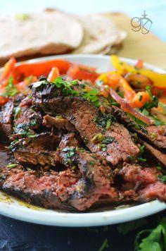 Spicy Fajita Steak Quesadilla | The Flavor Bender