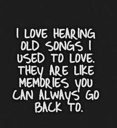I mostly don't because I didn't even like the music I listened to while I listened to it... otherwise  That's how I started listening to MCR again