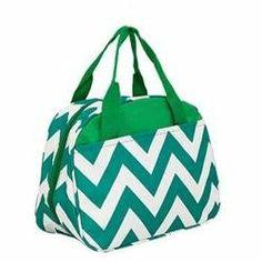 Rakuten.com:Handbags Bling and More|Chevron Print Insulated Lunch Bag|Uncategorized