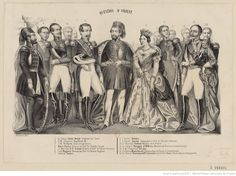 Abdülmecit 1839 - 1861 with Queen Victoria and Napoleon III Abdul Majid, Napoleon Iii, Bnf, Ottoman Empire, Yesterday And Today, Queen Victoria, Portraits, This Or That Questions, Prints