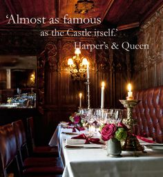 Luxury Restaurant Edinburgh   the Witchery by the Castle, Edinburgh #fine dining # restaurant