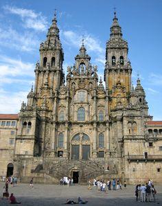 Santiago de Compostela Cathedral Galicia, Spain