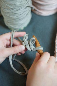 Knitting A Cord - Lebenslustiger.com