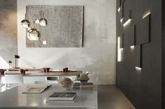 Flagship Store NEUTRA, #living. #tables. #stone,