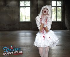 #halloween #kostüme #halloweencostumes #braut #scream #creepy #zombie