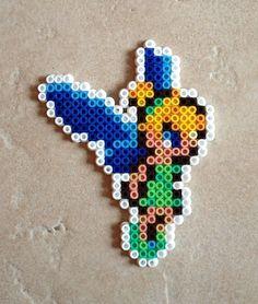 Tinker Bell Perler Beads