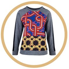 Louise Gray sweatshirt. Cool!