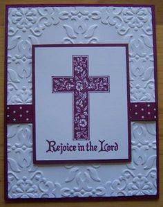 Crosses of Hope Easter Card by nilakias - Cards and Paper Crafts at Splitcoaststampers