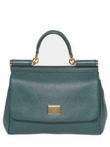 c325bbd592795d Dolce  amp  Gabbana - Sicily Deer Medium Top Handle Bag