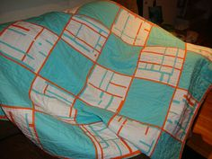 Baby Quilt commission by jgmehlin, via Flickr
