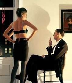 Classy Sentimental Scenes - Jack Vettriano Paints Romantic Depictions with a Hard-Boiled, Noir Feel (GALLERY)