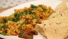Masala Khichdi - Indian Rice Recipe by Ruchi Bharani #Masala #Khichdi #Indian