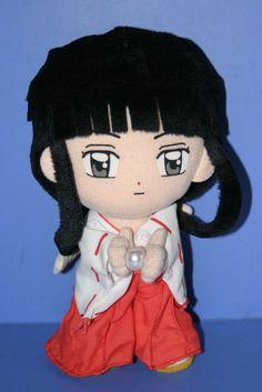 """InuYasha Inu Yasha Kikyo UFO Plush Doll in Japan 8"""""""