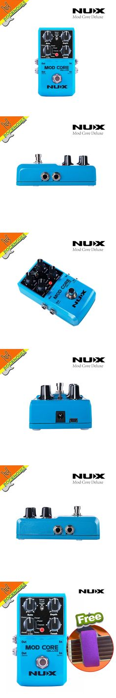 NUX MOD CORE Deluxe Modulation guitar Effects pedal chorus flanger phaser rotary pan  u-vibe and vibrato universal free shipping