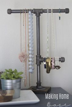 20 DIY Jewelry Organization Ideas - A Little Craft In Your DayA Little Craft In Your Day