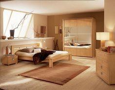 Idee per le pareti della camera da letto - Camera con pareti grigie ...