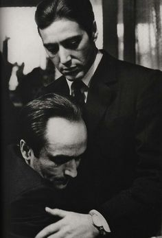 Al Pacino and John Cazale in The Godfather Part 2