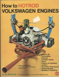 How to Hot Rod Volkswagen Engines Volkswagen Beetle Vintage, Vw Volkswagen, Vw Bus, Tatuagem Hot Rod, Vw Trikes For Sale, Hot Rod Movie, Vw Dune Buggy, Vw Engine, Vw Parts