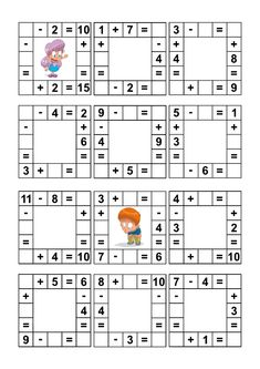 1st Grade Math Worksheets, Worksheets For Kids, School Holiday Activities, Preschool Activities, Math Lesson Plans, Math Lessons, Brain Book, Math Notes, Numbers Kindergarten