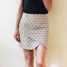 Infinity Skirt – Mimoi rnrnSource by Fashion Sewing, Diy Fashion, Love Fashion, Skirt Patterns Sewing, Clothing Patterns, Couture Sewing, African Fashion Dresses, Portfolio, Blazers For Women