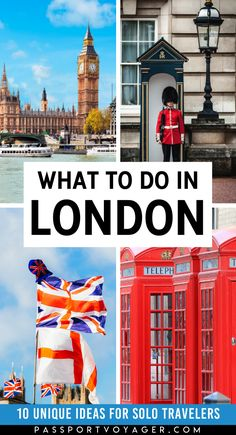 Traveling London alone and looking for some unique, budget-friendly ways to enjoy the city as a solo traveler? Check out my guide to the best 10 things to do in London on your own! Europe Travel Guide, Travel Guides, Travel Destinations, Traveling Europe, Backpacking Europe, Travelling, London England Travel, London Travel, Things To Do In London
