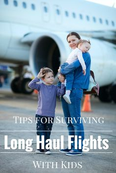 A guide for flying long haul with kids that you must read before your next overseas family vacation. The series covers everything from kids gear to jet lag to in-flight food. [ad] #AwayWeGo