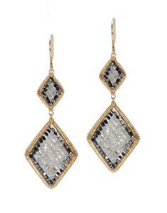Dana Kellin earrings with diamonds