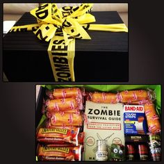 Zombie Survival Guide Gift