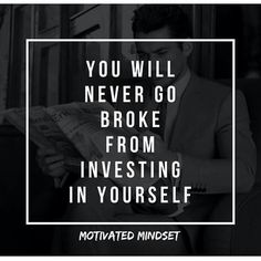Invest In Yourself Quotes 17 Best Invest in Yourself. images | Words, Inspire quotes, Invest  Invest In Yourself Quotes