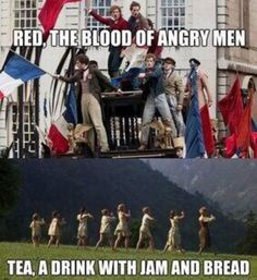 What would happen if someone put Les Mis and Sound of Music together---- I call it Miserables of Music. The best Les Miserables memes from around the web. Theatre Nerds, Musical Theatre, Broadway Theatre, Les Mis Broadway, Musicals Broadway, Amadeus Mozart, Out Of Touch, Dear Evan Hansen, Indie