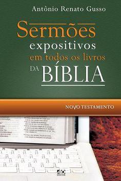 """Cover of """"Sermões expositivos em todos os livros da Bíblia – Novo Testamento"""""""