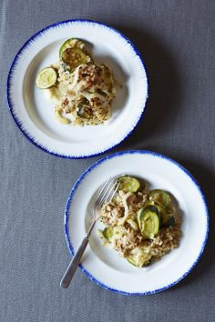 Slow Cooker Fennel and Zucchini Gratin with Chicken Sausage #chicken #slowcooker #easydinners