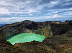 AFAR.com Highlight: Early Morning Trekking around the Rim of Glistening Kelimutu Three-Colored Volcanic Lake by Endro Catur Nugroho
