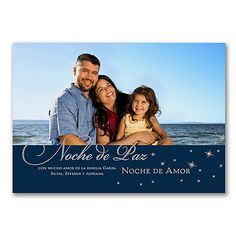 Silent Night - Photo Holiday Card - Spanish   |  40% OFF  |  http://mediaplus.carlsoncraft.com/Holiday/Photo-Cards/YU-YU39208FC-Silent-Night--Photo-Holiday-Card--Spanish.pro