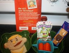 Flat Stanley bento lunch