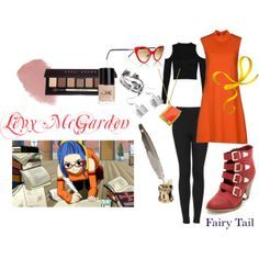 Fairy Tail. Leavy McGarden. Casual Cosplay.