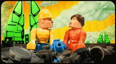 Retro 80s Toys Build A Plastic Civilization In This Stop-Motion Epic   The Creators Project