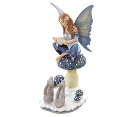Tales of Avalon Lisa Parker Sneeuw Fee Winter Verhalen Fairy Figurines, Collectible Figurines, Fairy Land, Fairy Tales, Elfen Fantasy, Lisa Parker, Snow Fairy, Fantasy Gifts, Forest Creatures