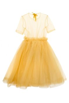 Going for Gold: Miss Vogue picks the best golden buys in honour of the Olympics - Molly Goddard tulle dresss