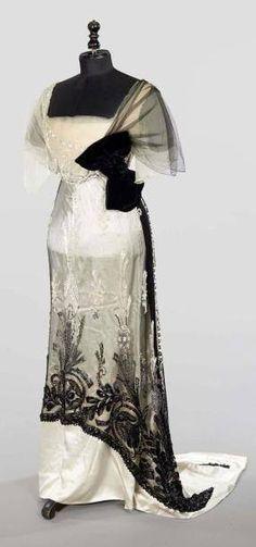 Paquin (Winter 1911) EVENING DRESS